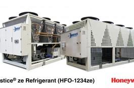Rhoss presenta la nuova gamma di chiller con HFO R1234ze