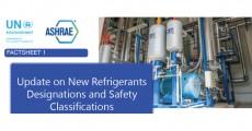 Pubblicata da ASHRAE la nuova classificazione e denominazione per i gas refrigeranti