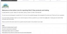 I produttori Europei di fluorocarburi sponsorizzano l'Action Line contro la commercializzazione illegale di HFC