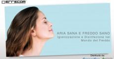 Aria Sana, Freddo Sano: igienizzazione e disinfezione nel mondo del freddo