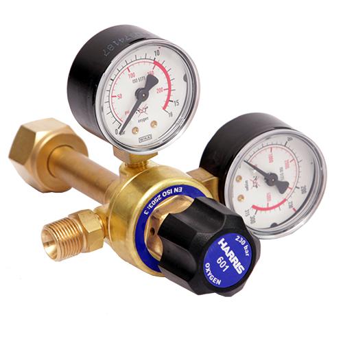 Riduttore di Pressione Ossigeno (originale Harris) - 601D - 10 bar - Entrata Post.