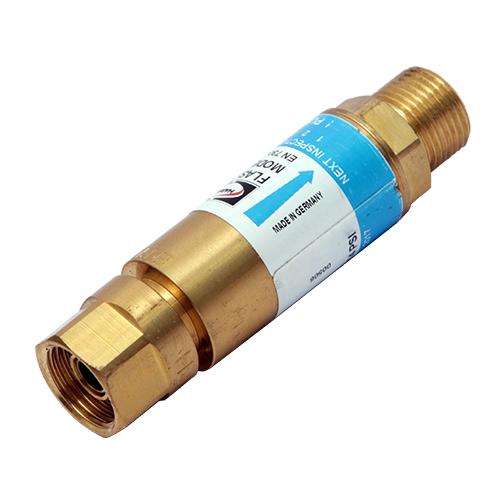 Valvola Sicurezza antiritorno Ossigeno per Riduttore (originale Harris) - 2 Funzioni - 85 m3/h