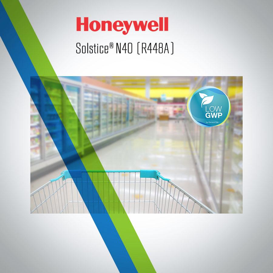Solstice N40 (R448A) adottato da Tecumseh per la refrigerazione commerciale