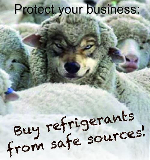 Guida Associazioni Europee sui rischi connessi ad incauto acquisto di refrigeranti illegali (e come prevenirli)
