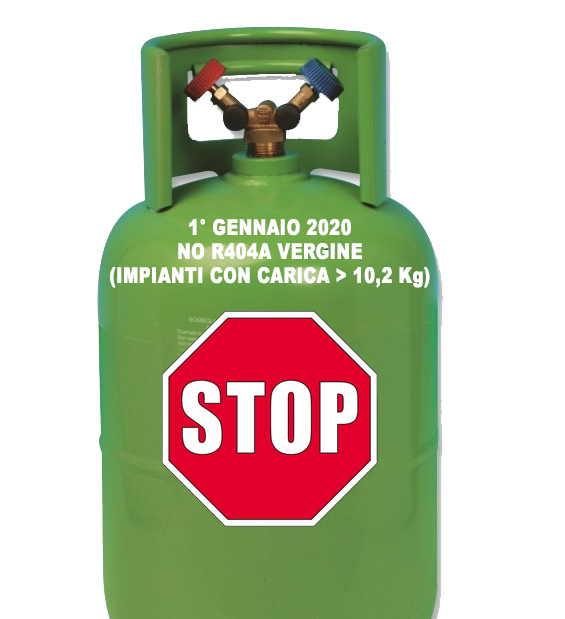 Informativa sul divieto di utilizzo, dal 1/1/2020, di gas refrigeranti vergini con GWP > 2.500 per manutenzione; chiarimenti su riciclo e rigenerazione