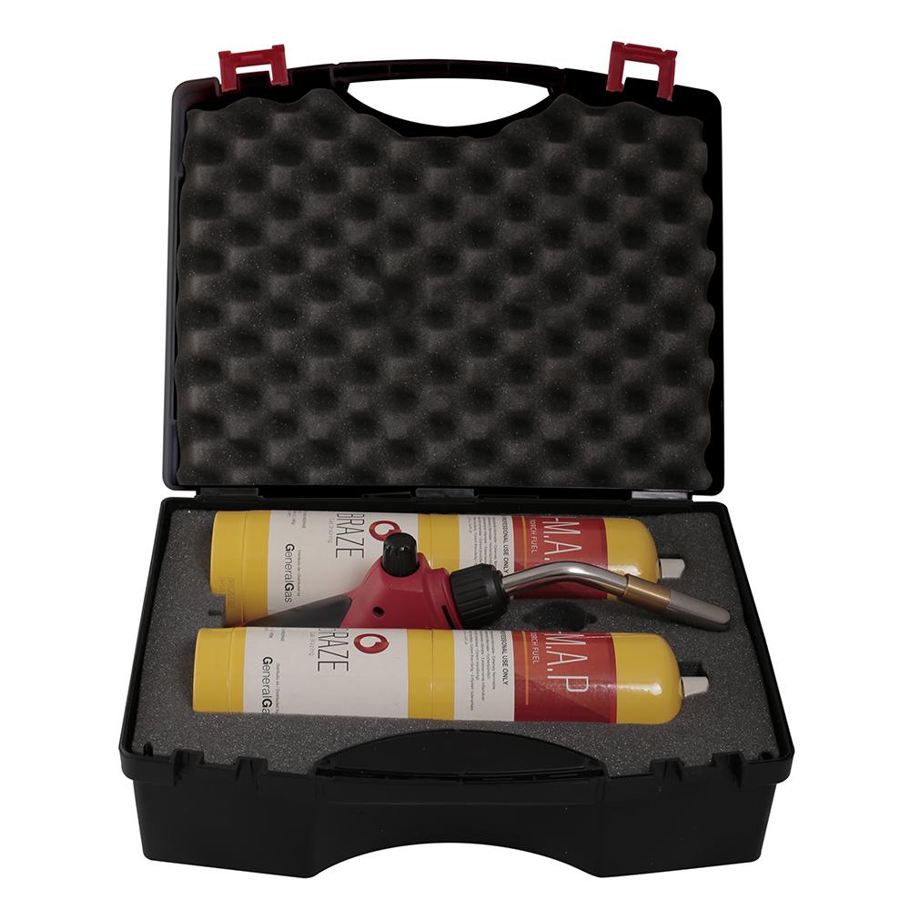 B-Braze® Kit 1 LIGHT per  Saldobrasatura in valigetta (T° fiamma fino a 3.100°C/5.612 °F)